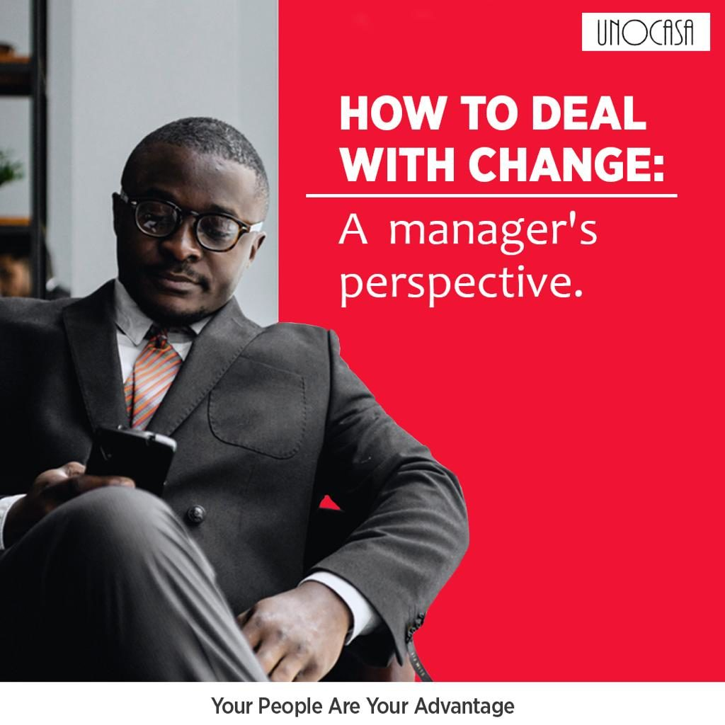 A manager dealing with change in his organization